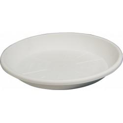 Sottovaso tondo bianco x vaso festonato ø 60cm