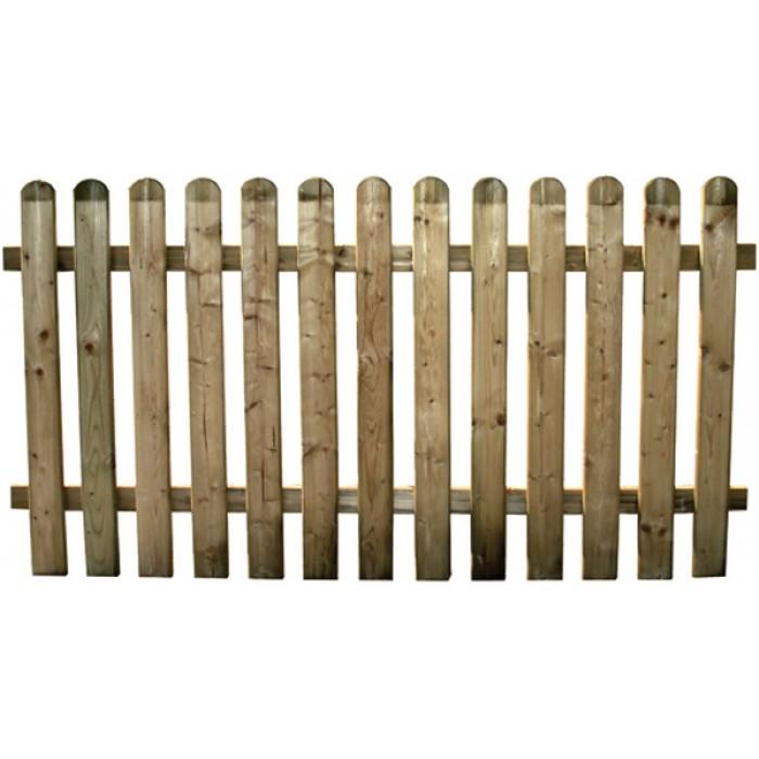 180x100HCM IMPREGNATA in autoclave STACCIONATA in legno di pino